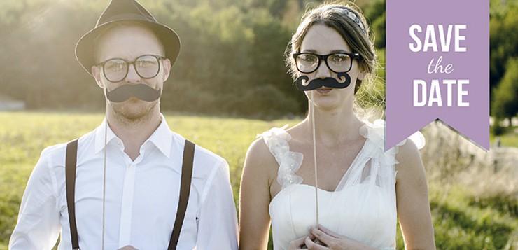 Save-the-date: 1. Schritt Ihrer Hochzeitsvorbereitungen