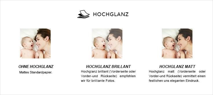 Option Hochglanzbeschichtung Carteland