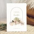 Einladungskarten Goldbogen, Goldprägung