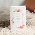 Dankeskarten Hochzeit Sommersonnenwende-Kranz, 10,5 x 15