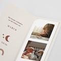 Geburtskarten Neues Regenbogen, 2 in 1 pas cher
