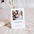 Dankeskarten Geburt Kuscheltier Hase, Foto pas cher