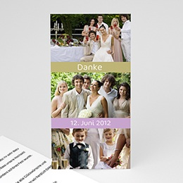 Danksagungskarten Hochzeit  - Fotokarte Berlin - 1