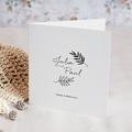 Hochzeitseinladungen Saint-Tropez, Klappkarte