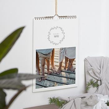 Natürlicher Wandkalender - New Start, A4-Modell - 0