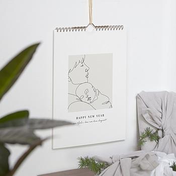 Natürlicher Wandkalender - erstes Jahr, A4-Modell - 0