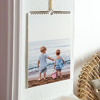 Wandkalender - Foto XL, A4, Spiralbindung - 0