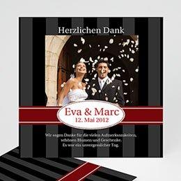 Danksagungskarten Hochzeit  - Geburtstageinladung - 1