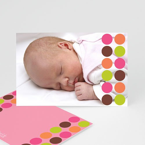 Geburtskarten selbst gestalten  - Punkt