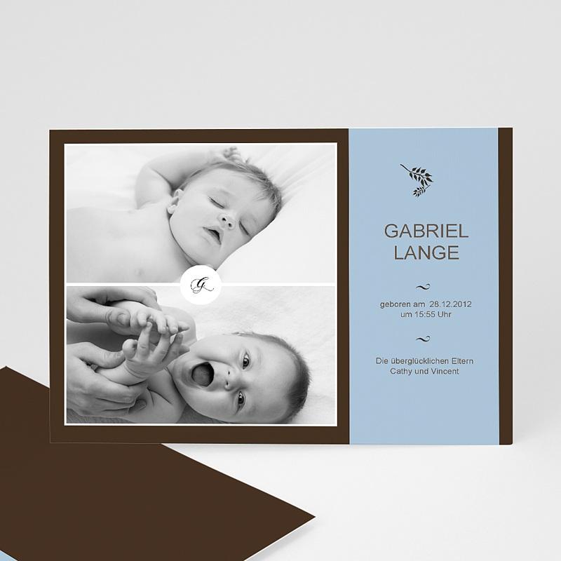 Geburtskarten für Junge Gaston
