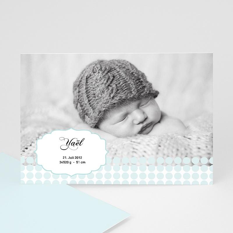 Geburtskarten für Jungen Baby Oskar