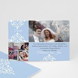 Danksagungskarten Hochzeit  - Babykarte Bruno - 1