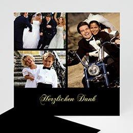 Danksagungskarten Hochzeit  Pur