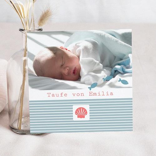 Einladungskarten Taufe Mädchen - Louise 1160 thumb