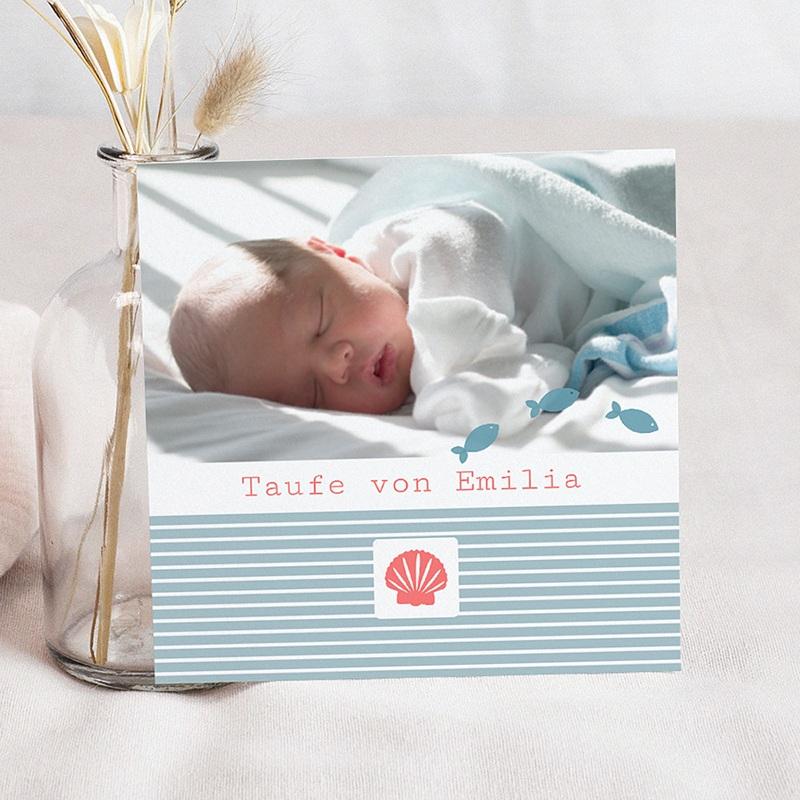 Einladungskarten Taufe Mädchen Louise