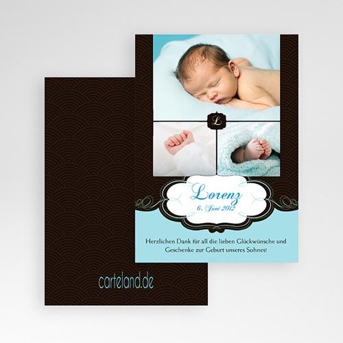 Dankeskarten Geburt Jungen - Sven 1181 thumb