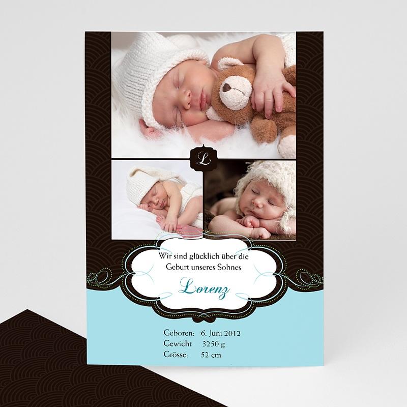 Geburtskarten für Jungen Agnus