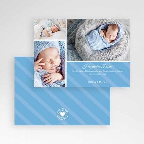 Dankeskarten Geburt für Jungen Sepp pas cher
