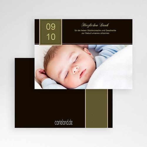 Dankeskarten Geburt Jungen - Max 1209 test