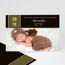 Geburtskarten selbst gestalten  Geschenk des Lebens