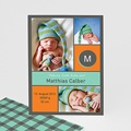 Dankeskarten Geburt für Jungen Marcus
