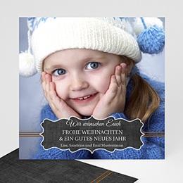 Weihnachtskarte Nostalgie - 1