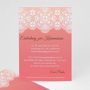 Einladungskarten Kommunion Mädchen - Kommunion Mädchen - 1