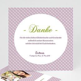Einladungskarte Kommunion Ornament - 1