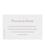 Klassische Dankeskarten Hochzeit  - Formvollendet 12685 thumb