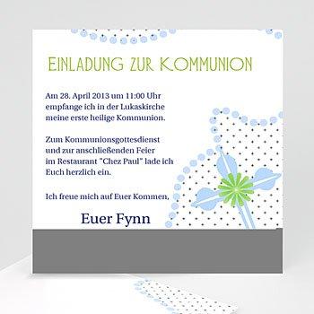 Einladungskarten Kommunion Jungen -  - 1
