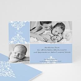 Dankeskarten Geburt Jungen George