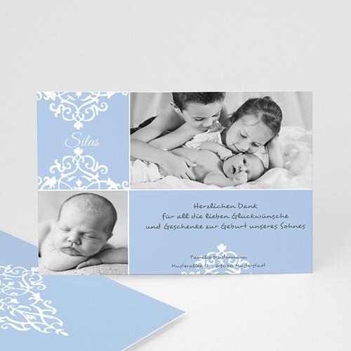 Dankeskarten Geburt Jungen - George 1272 test