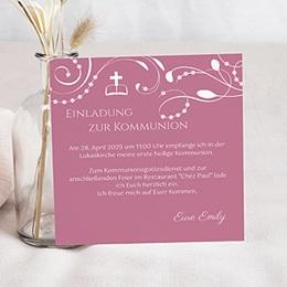 Stilvolle Einladungskarte - 1