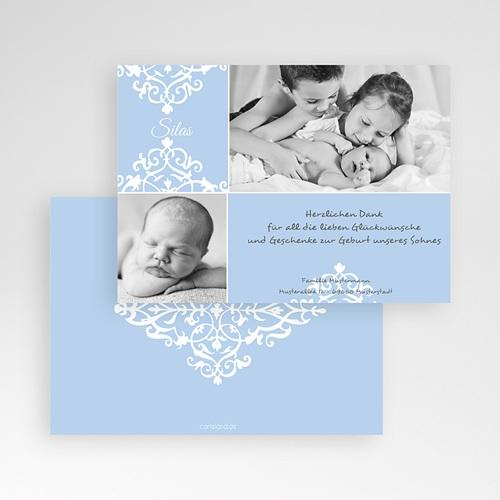 Dankeskarten Geburt Jungen - George 1273 test