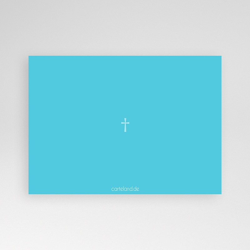 Einladungskarten Kommunion fur Jungen Taufkarte Kreuz pas cher