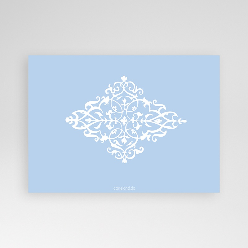 Geburtskarten für Jungen Design Royal - Blau pas cher