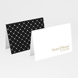 Tischkarten Hochzeit personalisiert Gondel