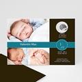 Geburtskarten für Jungen Edles Design