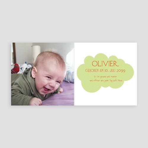 Geburtskarten für Jungen Kleiner Dino pas cher
