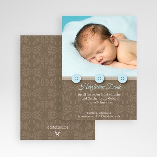 Dankeskarten Geburt Jungen - Thomas 1293 test