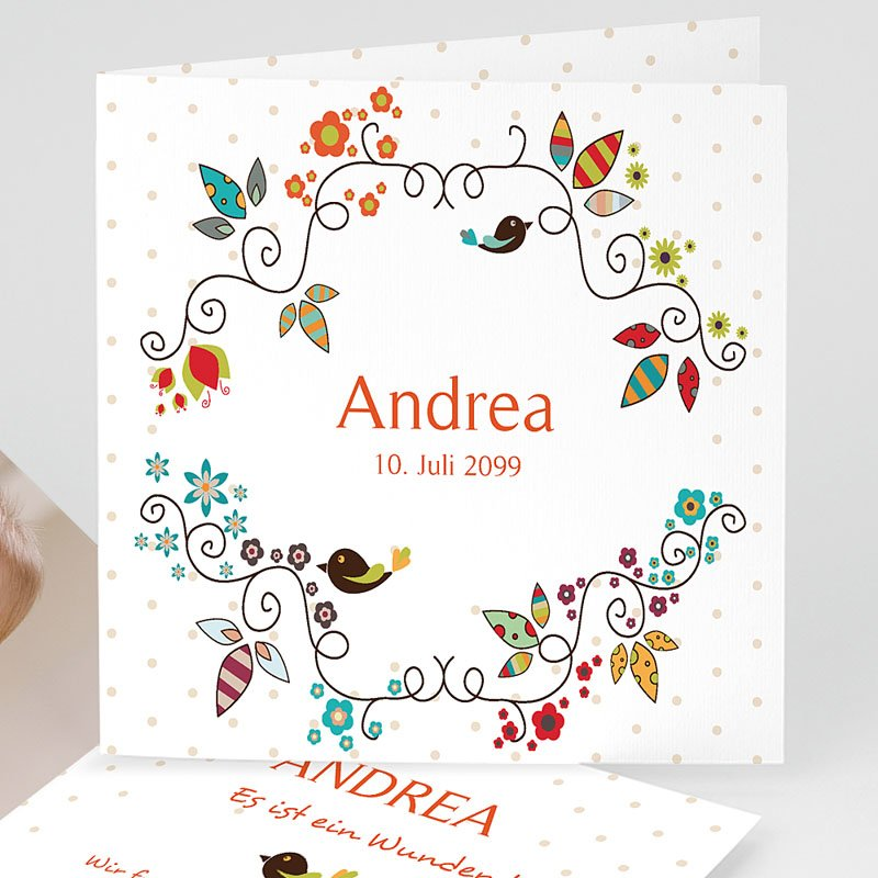 Geburtskarten für Mädchen - Zauberfee 13066 thumb