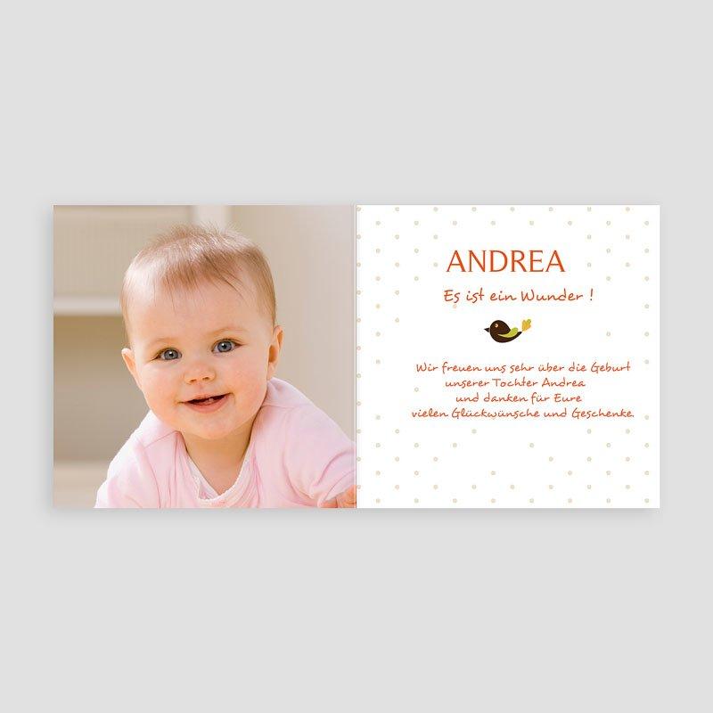 Geburtskarten für Mädchen - Zauberfee 13067 thumb