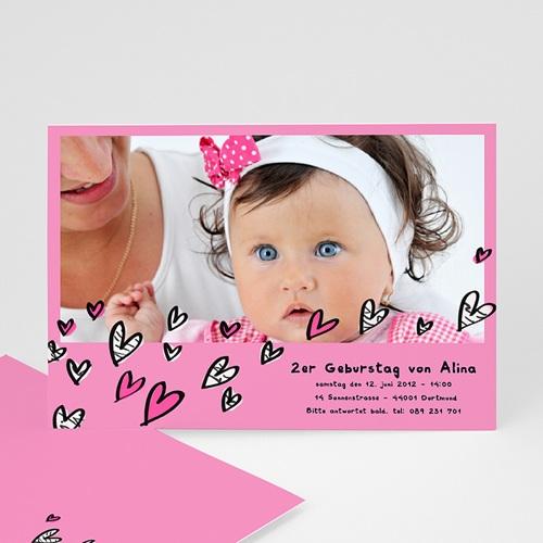 Geburtstagseinladungen Mädchen - Chloe 1308