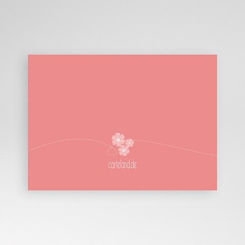 Einladungskarten Kommunion Mädchen - Blumig 13114 test