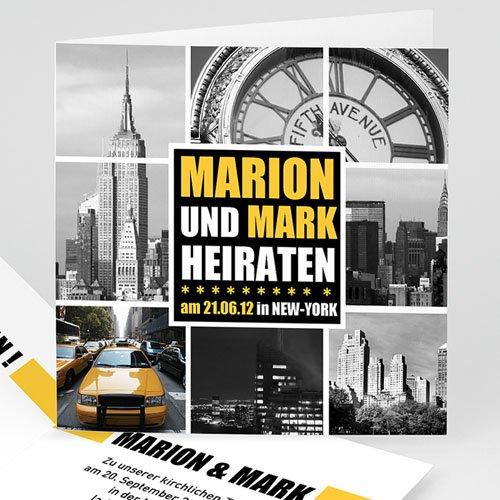 Hochzeitskarten Reisen - New York City 1324 test