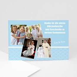 Danksagungskarten Kommunion Erstkommunion