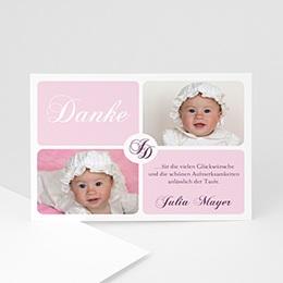 Danksagungskarten Taufe Yaelle