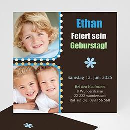 Geburtstagseinladungen Jungen Ethan