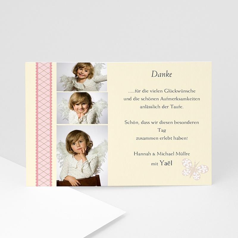 Dankeskarten Taufe Mädchen - Katharina 1380 thumb