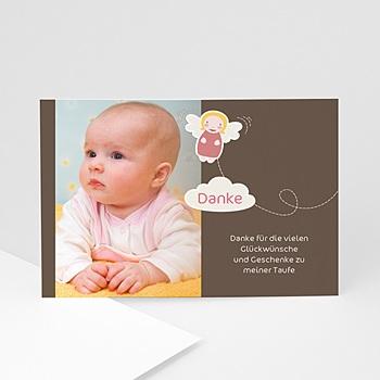 Dankeskarten Taufe Jungen - Taufkarte Max - 1